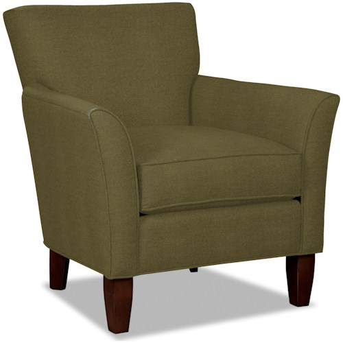 Craftmaster 060110 Contemporary Flare Arm Accent Chair
