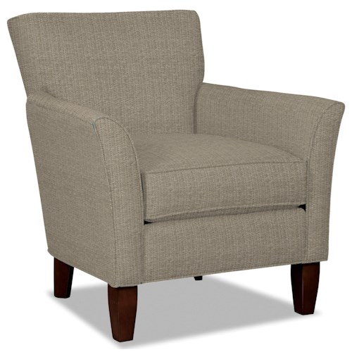 Cozy Life Townhouse Contemporary Flare Arm Accent Chair