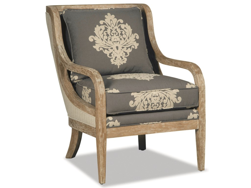 Hickorycraft 067410-067510Accent Chair -Weathered Oak