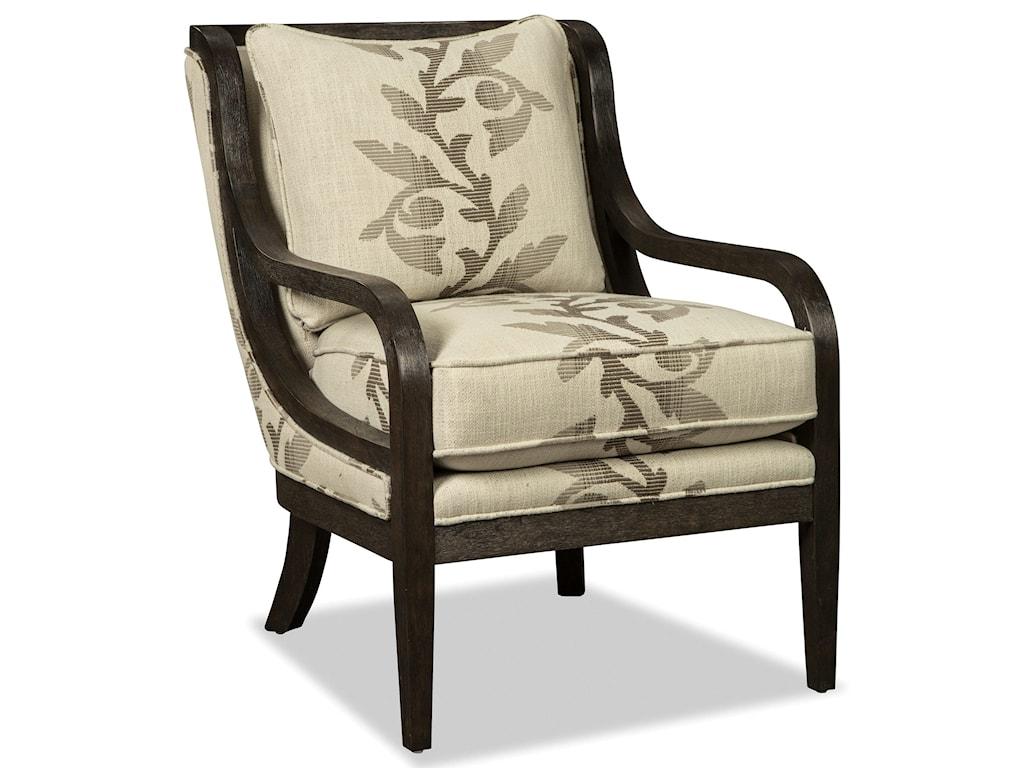 Craftmaster 067410-067510Accent Chair - Dark Weathered Oak