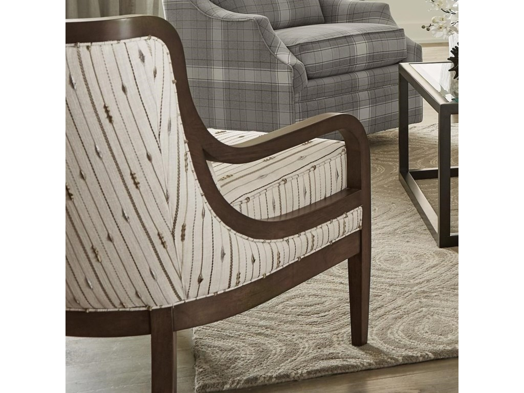 Hickory Craft 067410BDAccent Chair