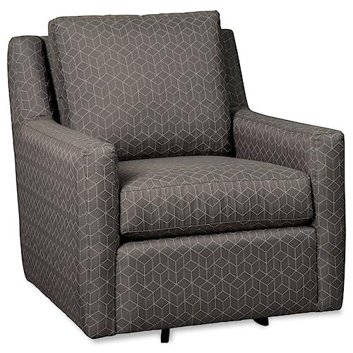 Craftmaster 072510 Swivel Glider Chair