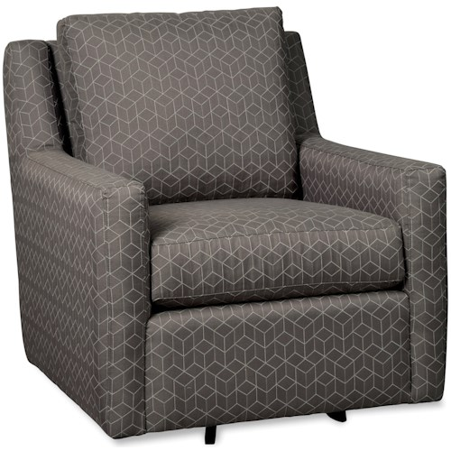 Craftmaster 072510 Swivel Glider Chair