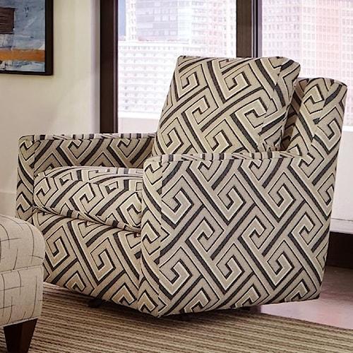 Craftmaster 072510 Swivel Chair