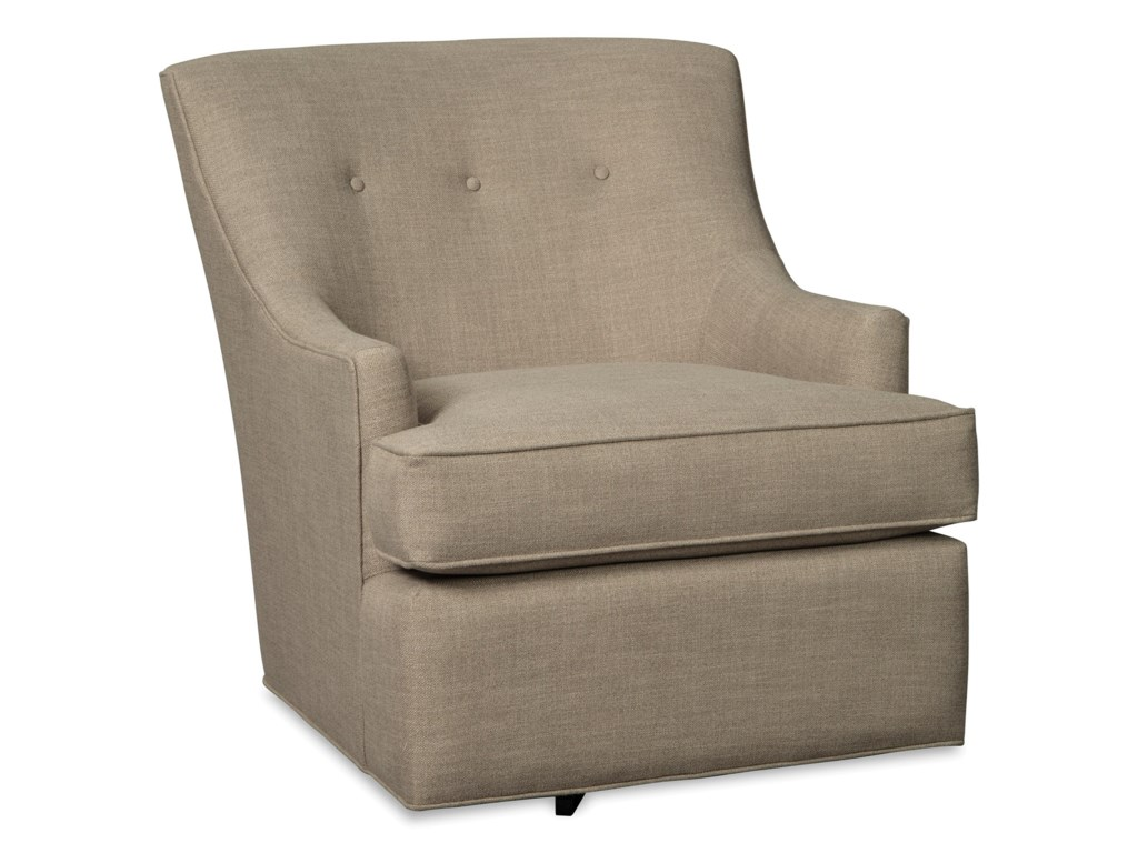Craftmaster 073610Swivel Glider Chair