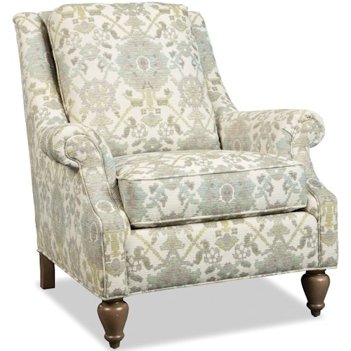 Craftmaster 074410-074510 Traditional Chair with Wing Back