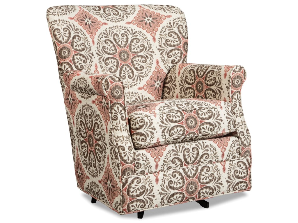 Craftmaster 075110Swivel Glider Chair