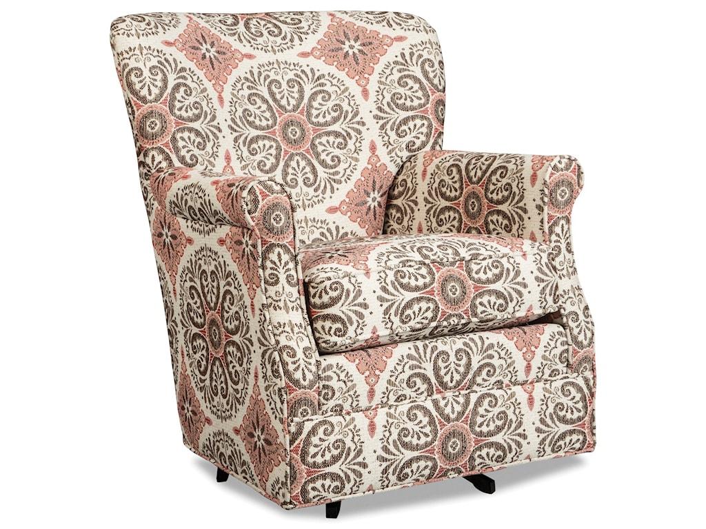 Craftmaster 075110Swivel Glider Chair