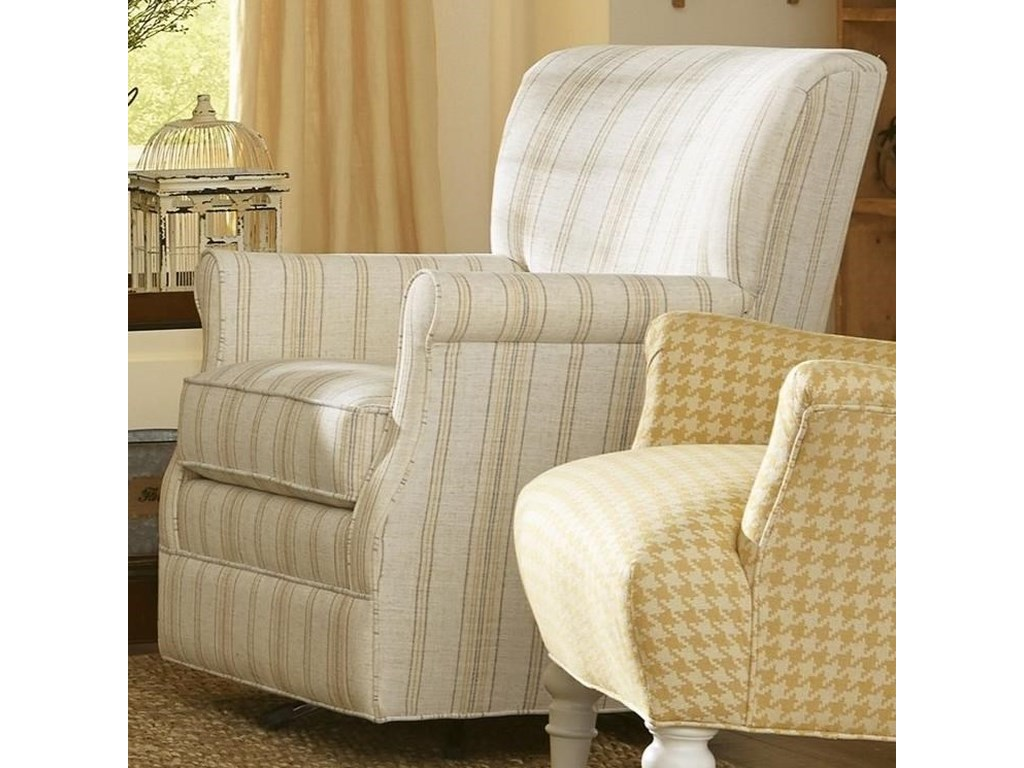Hickory Craft 075110Swivel Glider Chair