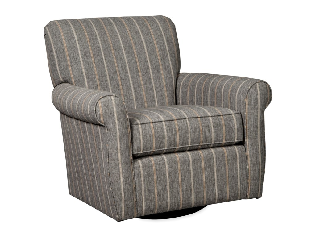 Craftmaster 075610-075710Swivel Glider Chair