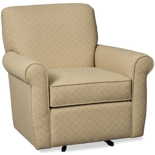 Hickory Craft 075610-075710 Casual Swivel Chair