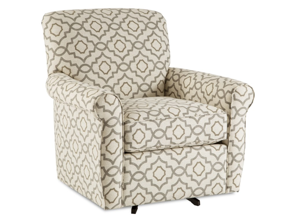 Craftmaster 075610-075710Swivel Chair