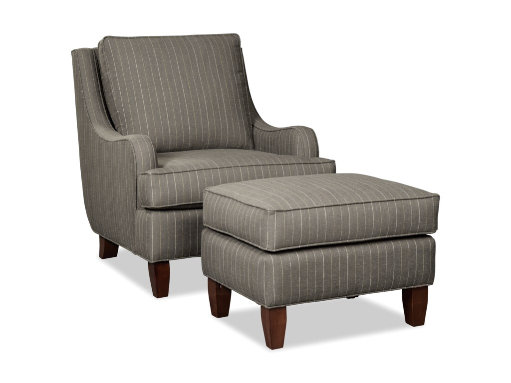 Craftmaster 080410Chair and Ottoman Set