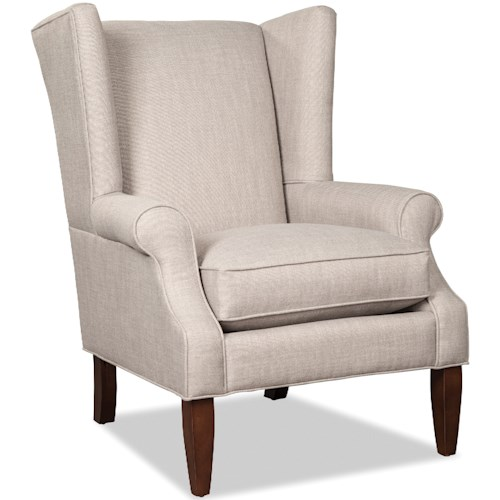 Craftmaster 083610 Transitional Wing Chair
