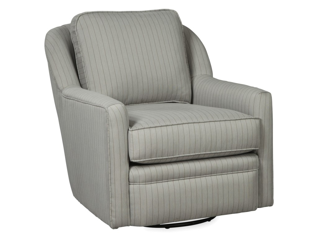 Craftmaster 085110-085210Swivel Glider Chair