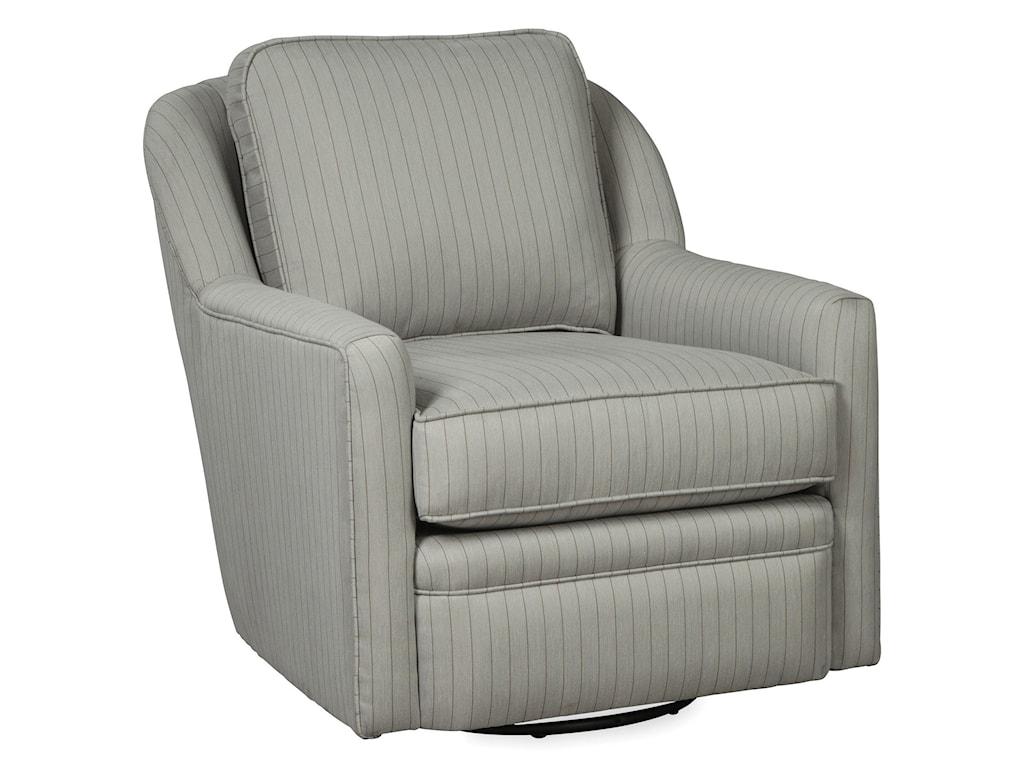 Craftmaster 085110-085210Swivel Glider Chair