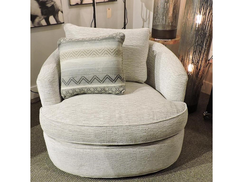 Craftmaster 085710Swivel Chair