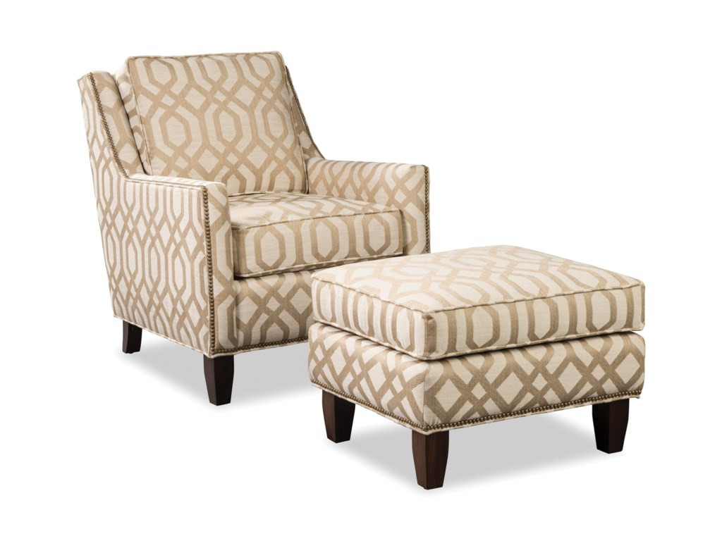 Hickorycraft 090500Chair & Ottoman Set