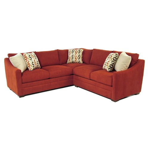 Cozy Life F9 Custom Collection Kalena 2-Piece Sectional