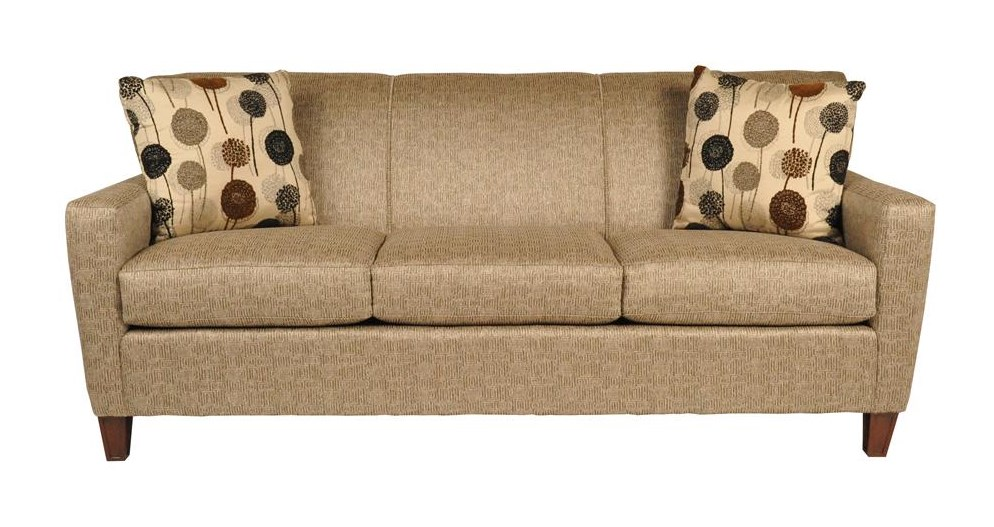 main madison digsby contemporary sofa with decorative accent