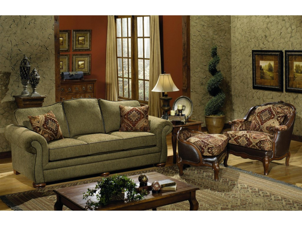 Craftmaster 2670Queen Sleeper Sofa