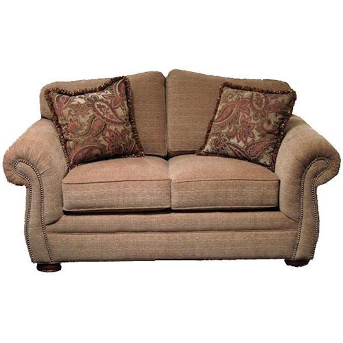 Hickorycraft 2675 Traditional Love Seat