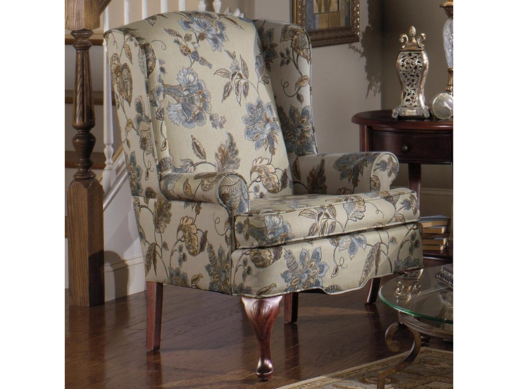 Hickorycraft 375 Upholstered Wing Chair