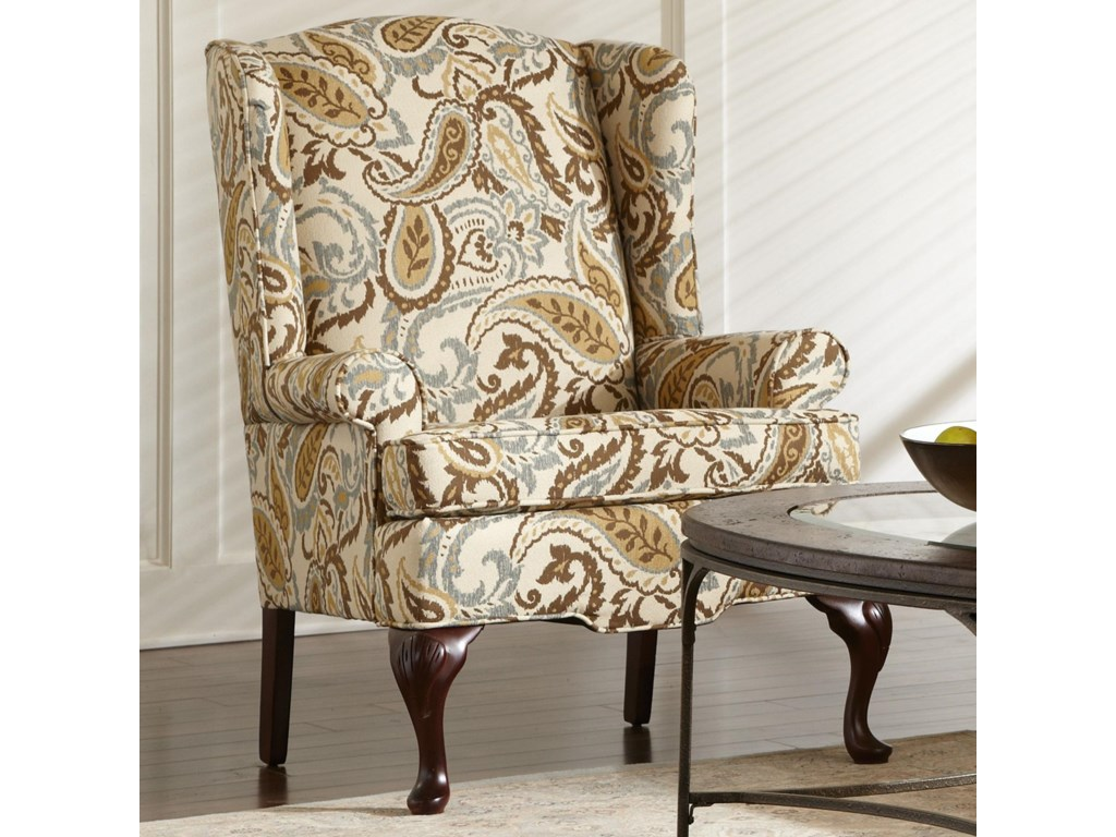 Craftmaster 4200Traditional Wing Chair