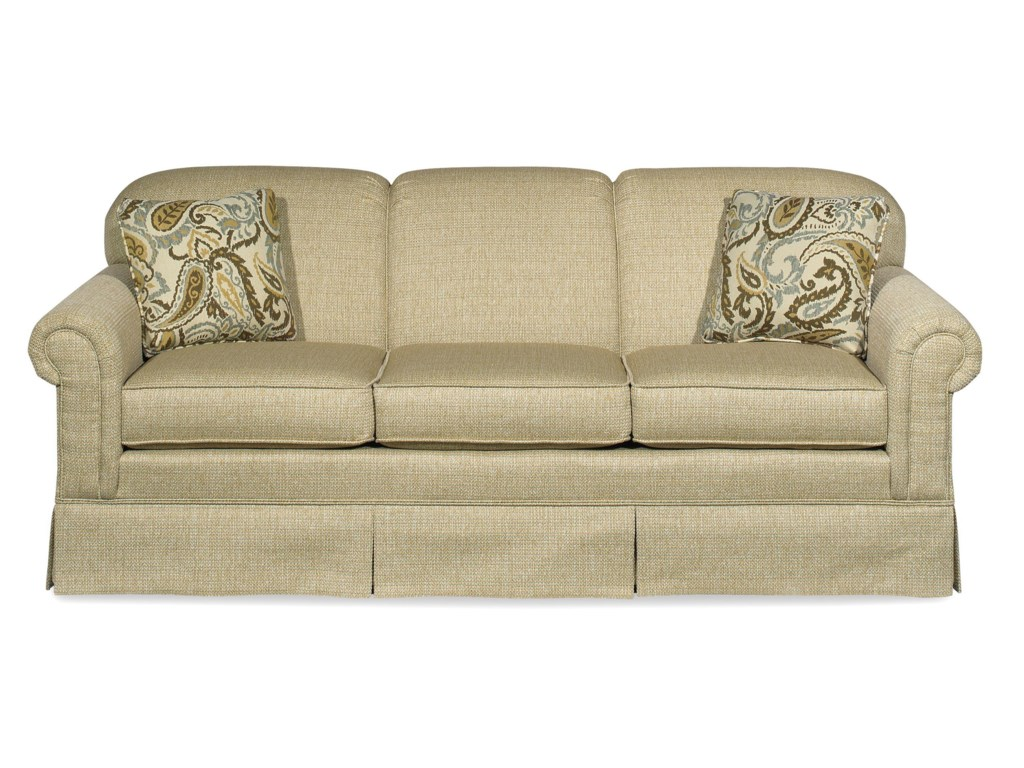 Hickorycraft 4200Stationary Sleeper Sofa