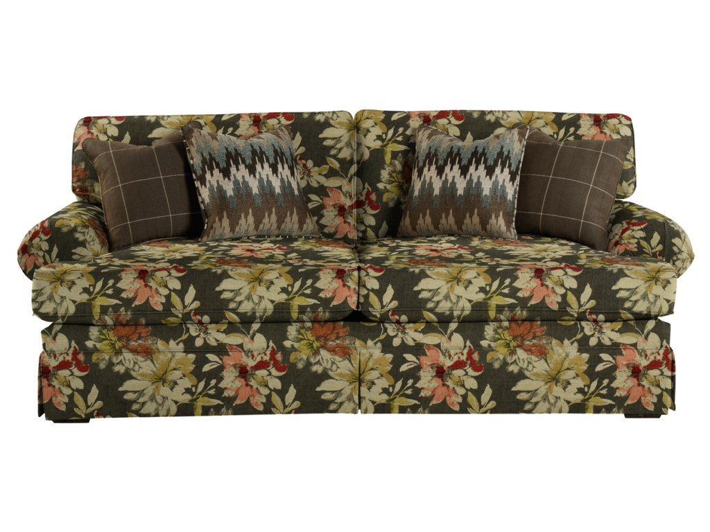 Hickory Craft 4550Upholstered Stationary Sofa
