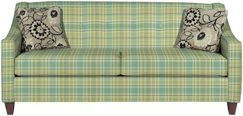 Craftmaster 7069 Contemporary Sofa with Button Detail