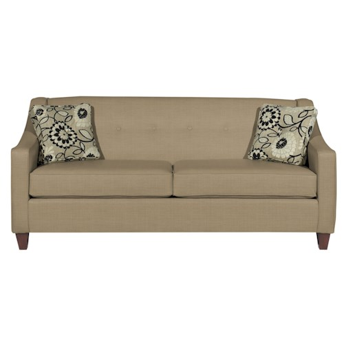 Cozy Life 7069 Contemporary Sofa with Button Detail