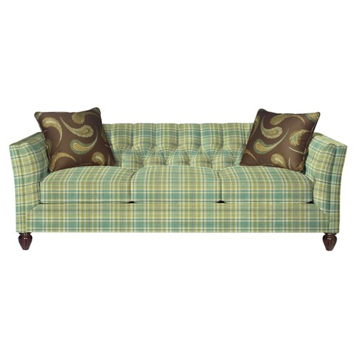 Cozy Life 724450 Transitional Chesterfield Sofa with Button-Tufting