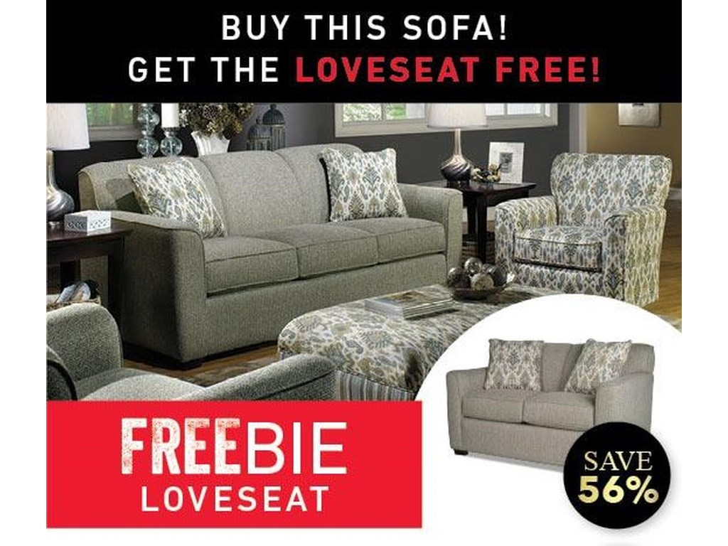 Main & Madison BetsyBetsy Sofa and Freebie Loveseat