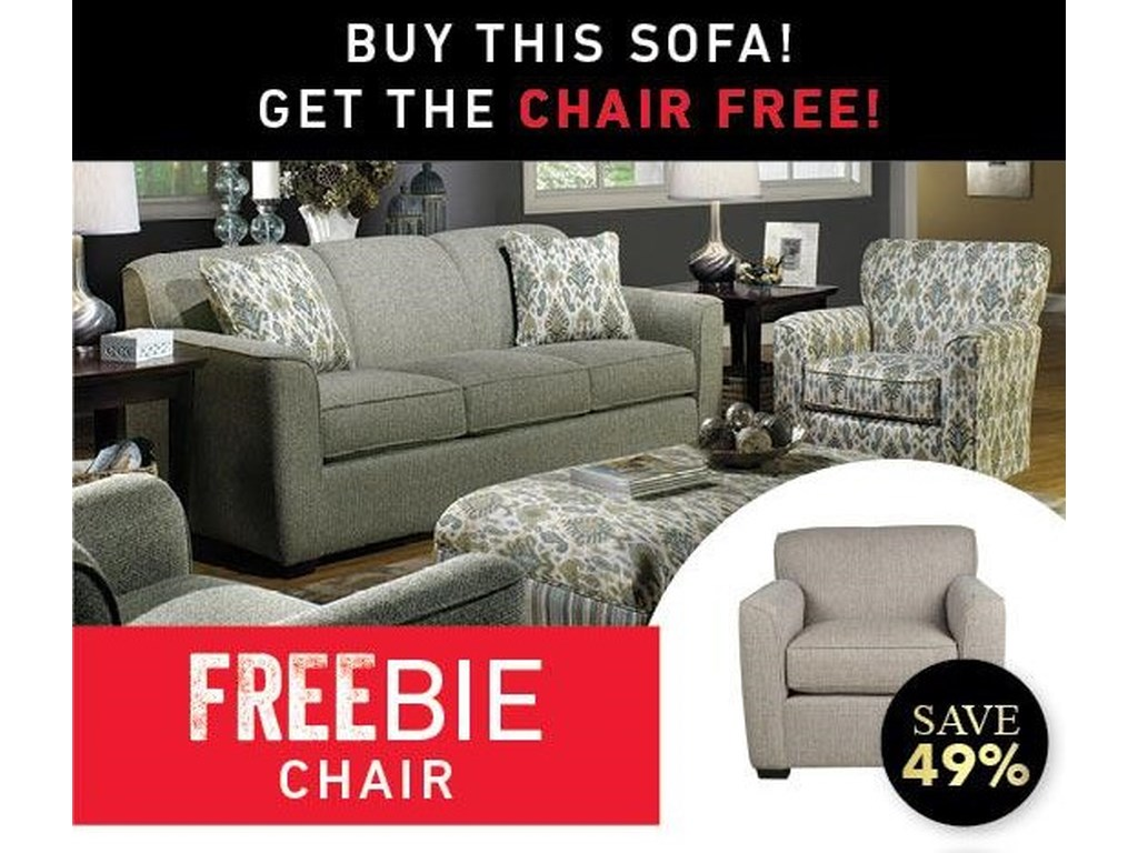 Main & Madison BetsyBetsy Sofa and Freebie Chair