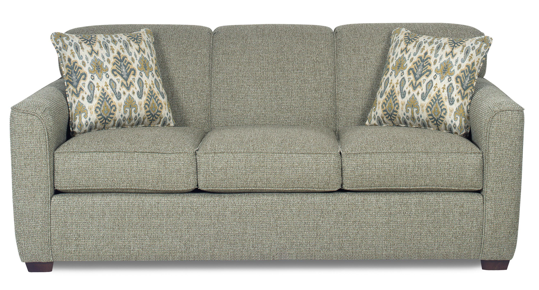 Craftmaster 7255Sleeper Sofa W/ Memory Foam Mattress ...