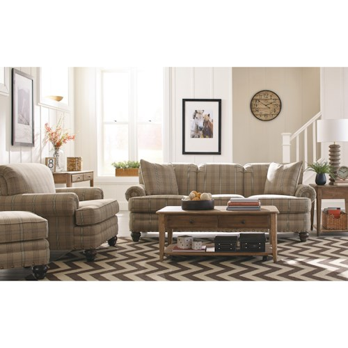 Craftmaster 7281 Living Room Group