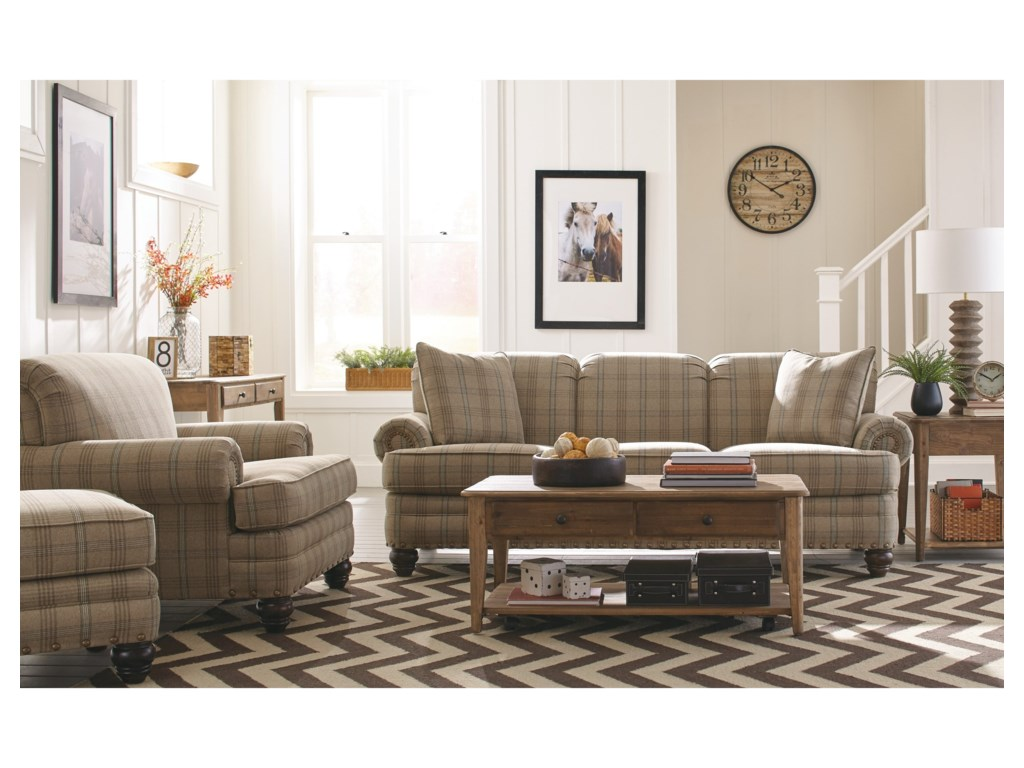 Hickory Craft 7281Sofa