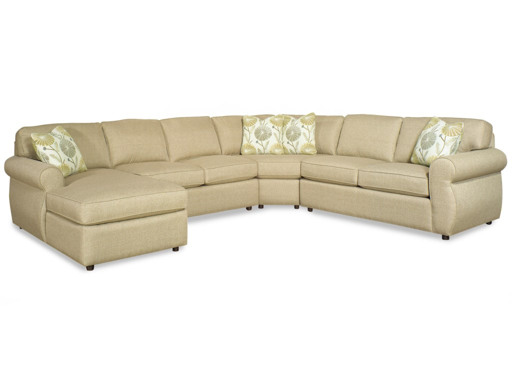 Craftmaster 7301004 Piece Sectional Sofa