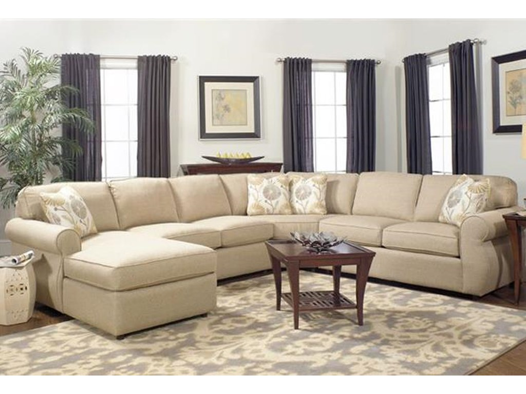 Craftmaster Monica4 Piece Sectional Sofa