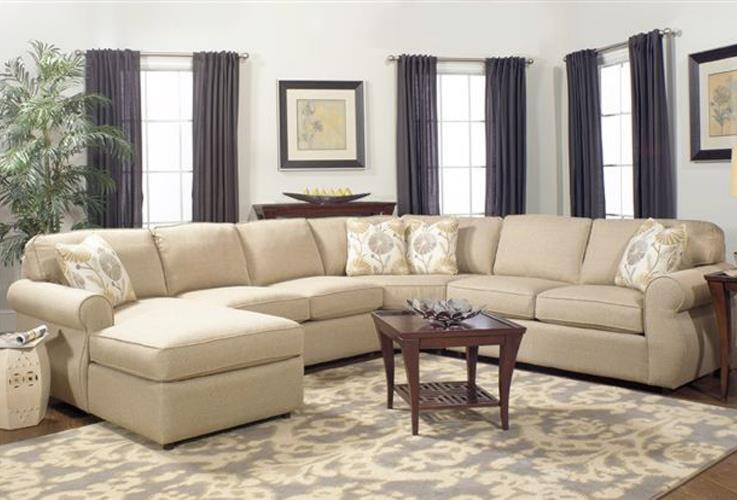 Craftmaster Monica4 Piece Sectional Sofa