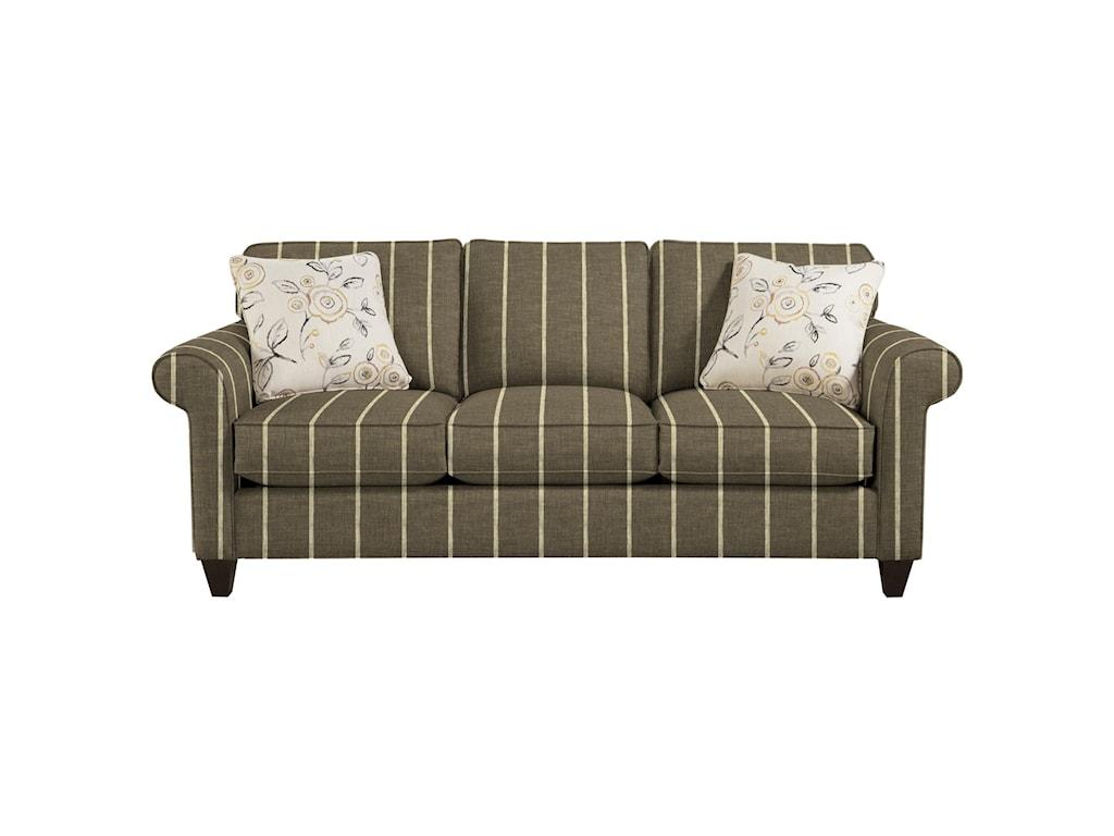 Craftmaster 7421Memoryfoam Sleeper Sofa