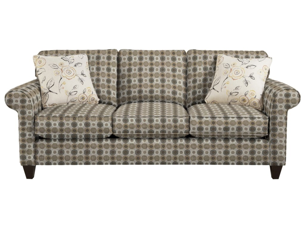 Craftmaster 7421Memoryfoam Sleeper Sofa