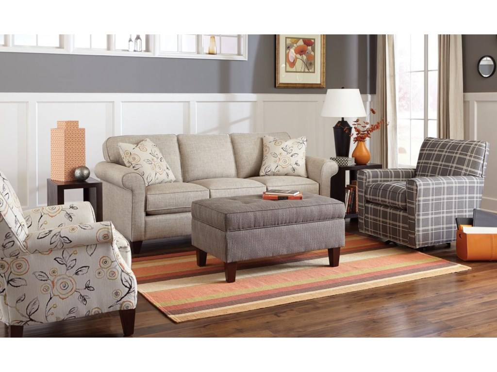 Hickorycraft 7421Sleeper Sofa