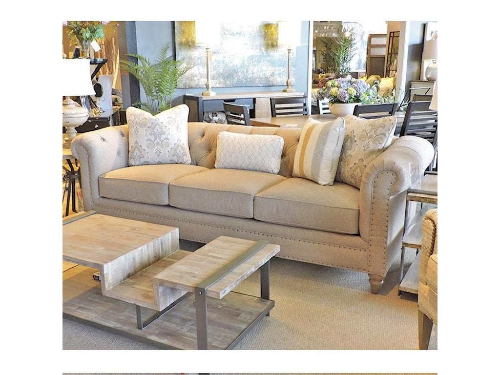 Craftmaster EmmaTufted Sofa