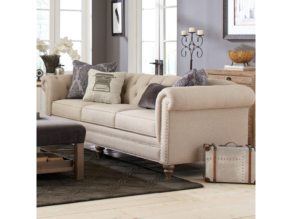 Craftmaster 7431-7432Large Sofa