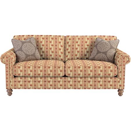 Sofa w/ Vintage Tack Nailheads