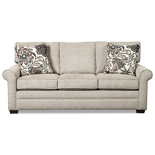 Craftmaster 7523 Queen Innerspring Mattress Sleeper Sofa