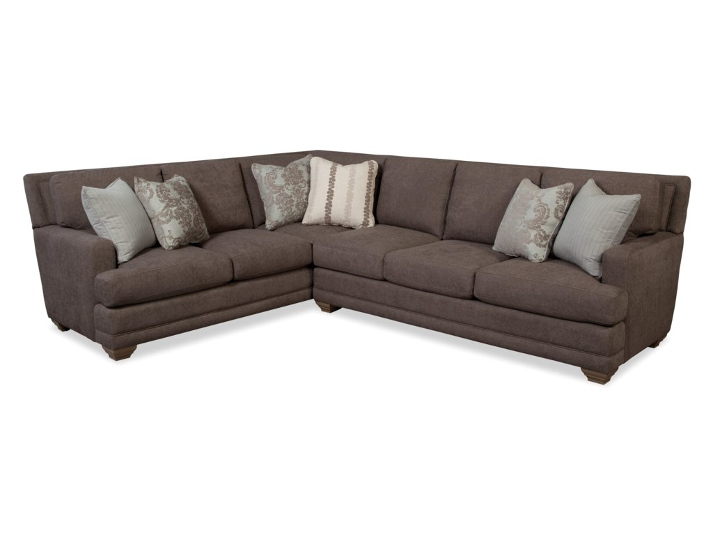 Craftmaster 7536Traditional Sectional Sofa
