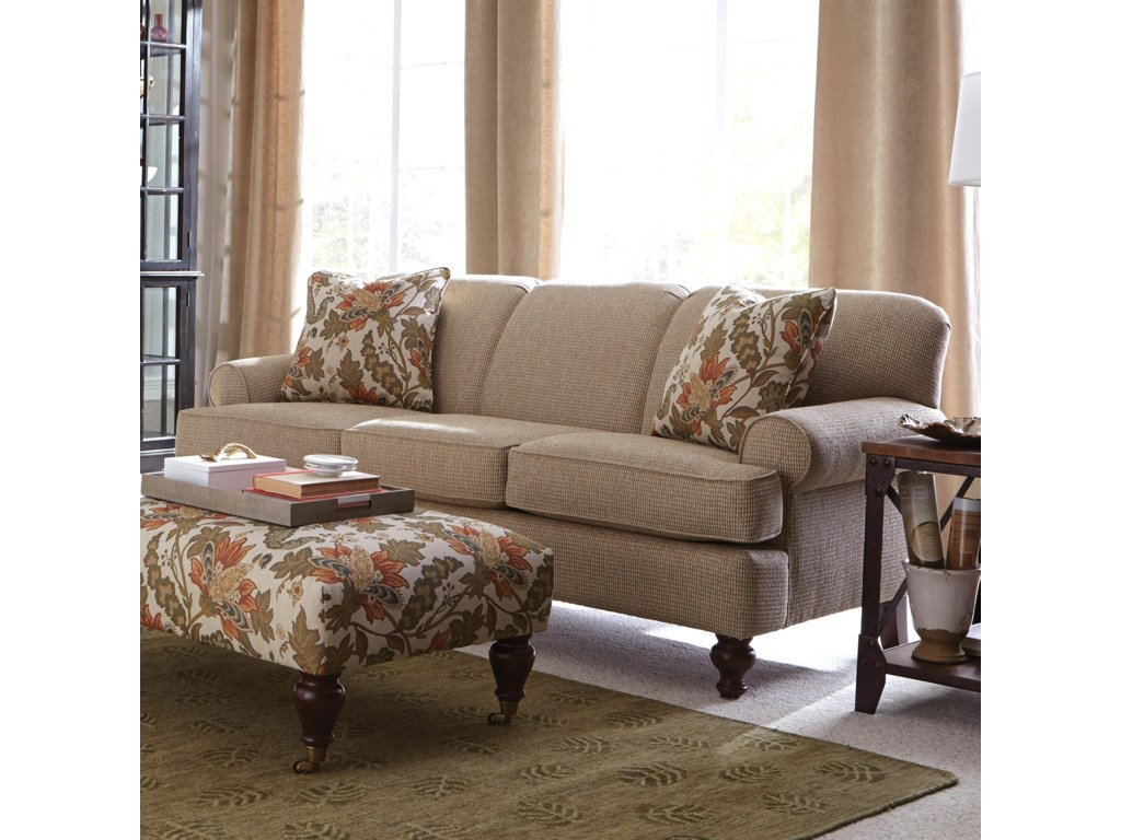 Craftmaster 7548 Small-Scale Traditional Sofa | Colder's Furniture on home coffee tables, home furniture, home changing table, home craft table, home iron table, home modern couch, home trash bin, home lunch table, home accessories, home bed designs, home pub table, home dining table, home entertainment center, home media seating, home reading table,